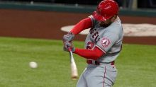 Home runs by Trout, Walsh power Angels past Rangers 6-2