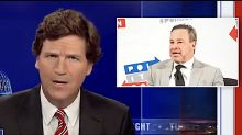 Tucker Carlson casually maligns David Frum, who responds by deconstructing his former friend's 'cowardly' act