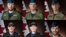 PHOTOS: Six Canadians on board downed Canadian helicopter