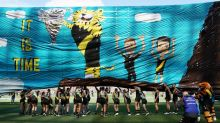 AFL banners back after COVID-19 stoppage