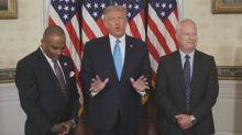 Trump pardons former bank robber who found God
