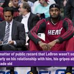 LeBron James says 'lack of respect' towards Spoelstra is from media, not NBA