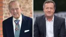 Prince Philip is the 'rudest human being ever', according to Piers Morgan