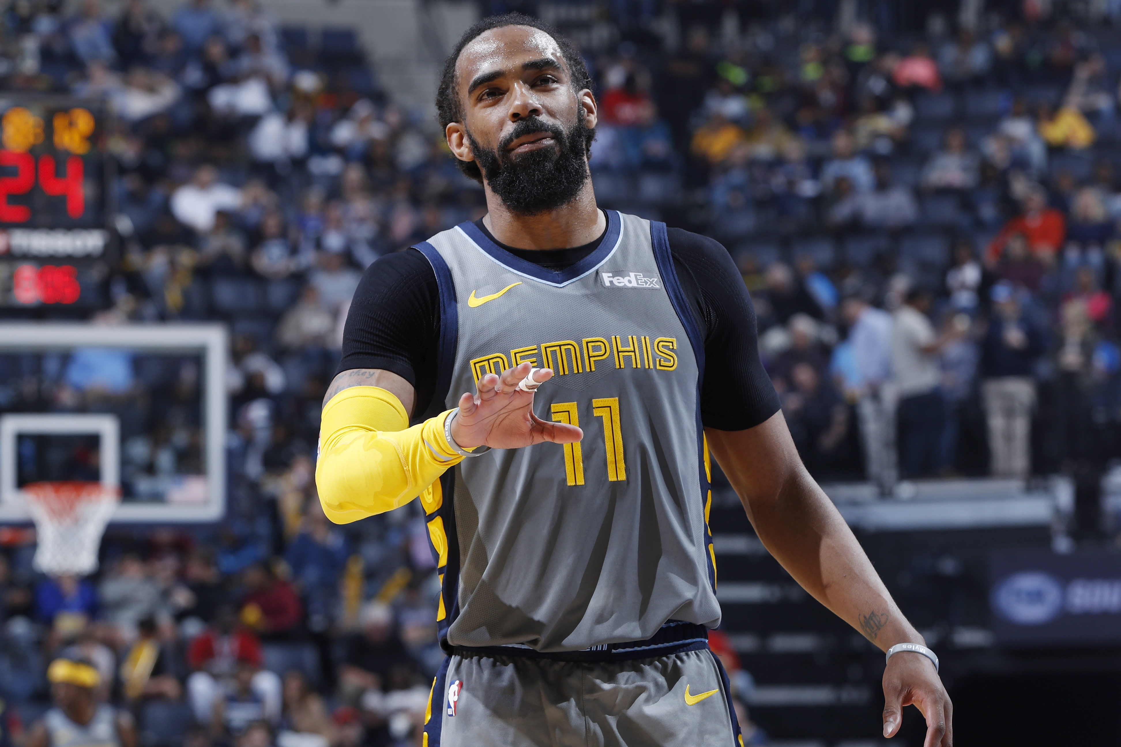 save off 3a920 1ba44 Grizzlies' Mike Conley Jr. traded to Jazz, per reports