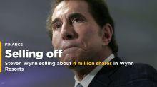 Steve Wynn no longer has stock in Wynn Resorts