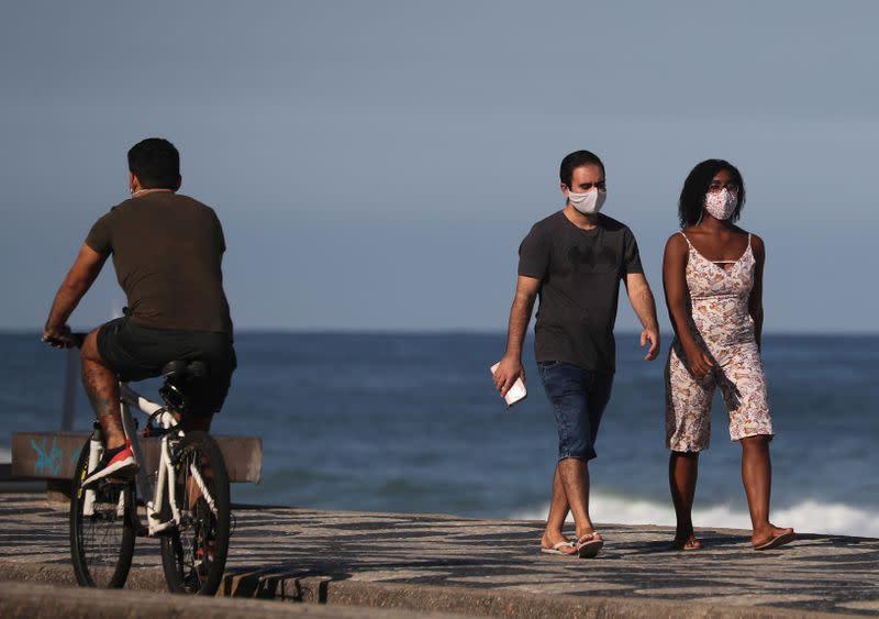 Brazil surpasses U.S. in daily coronavirus death toll
