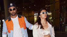 Amidst marriage rumours, Ranbir and Alia return to Mumbai from a European vacation