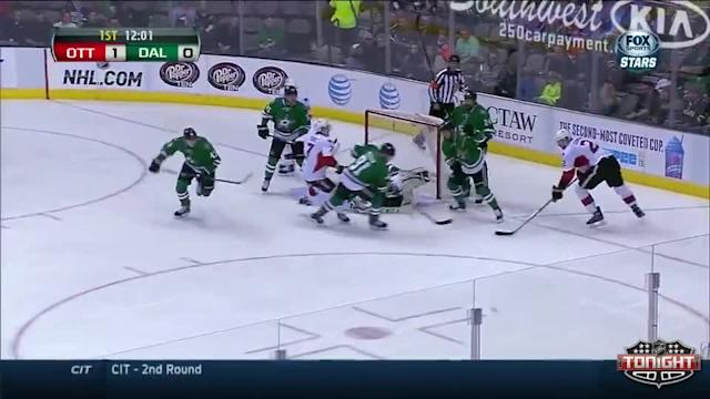 Ottawa Senators at Dallas Stars - 03/22/2014