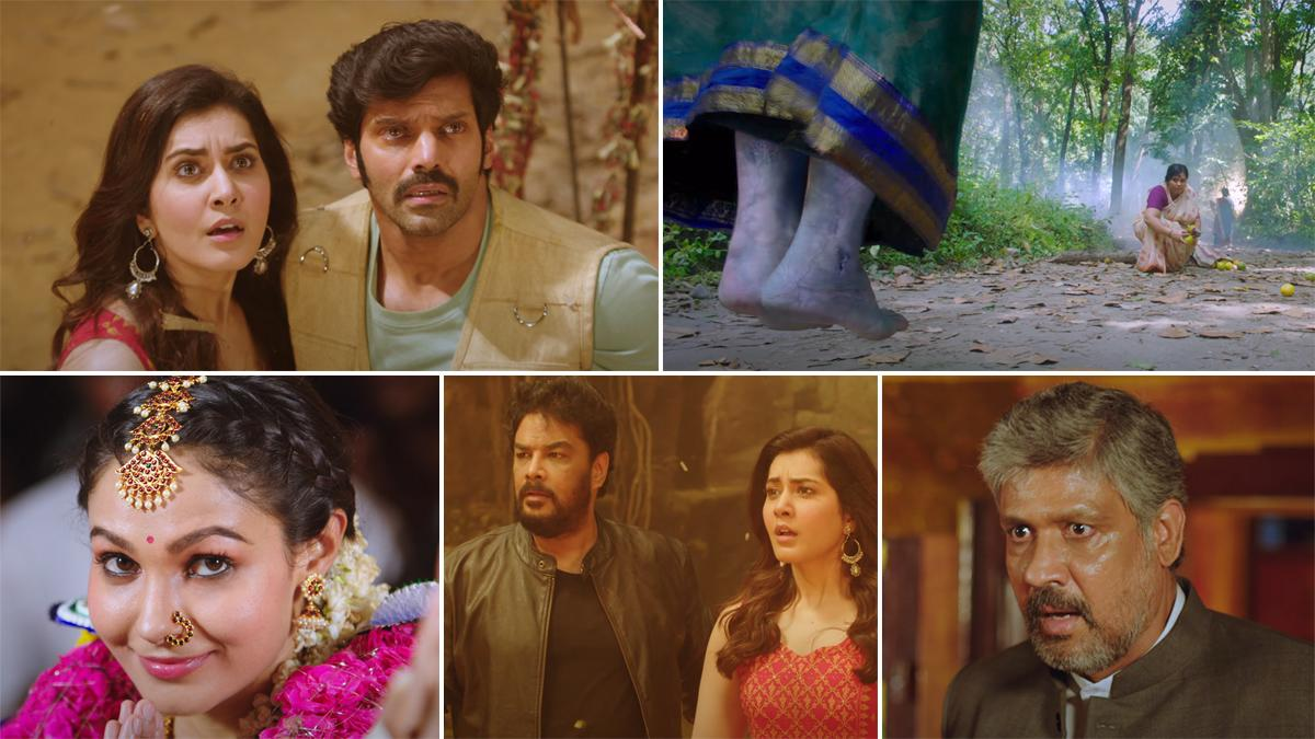 Aranmanai 3 Trailer: Arya and Raashi Khanna's Spooky Film Is a Mysterious  Story About Angry Spirits and a Haunted Palace (Watch Video)