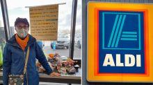 Aldi shopper reveals major problem in trolley load of groceries