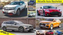Neuheiten 2018, 2019, 2020: Alle neuen Autos im Überblick