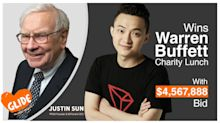 Chinese blockchain entrepreneur Justin Sun won Warren Buffett's charity lunch with $4.6M bid