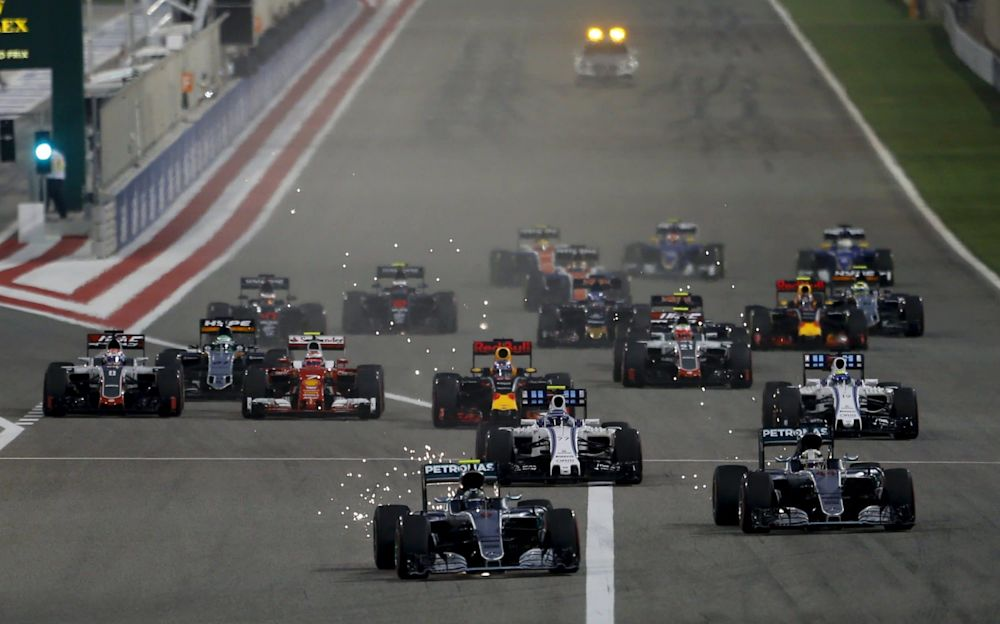 The Mercedes are likely to be given a closer run down to turn one by the Ferraris in 2017 - Reuters