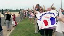 Homecoming for Air National Guardsmen