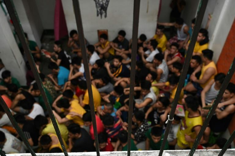 Critics say conditions in many of Philippine youth detention facilities are identical to or worse than the jails adults are sent to (AFP Photo/TED ALJIBE)