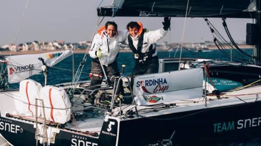 Voile - Sardinha Cup - Le duo Xavier Macaire-Morgan Lagravière vainqueur de la Sardinha Cup