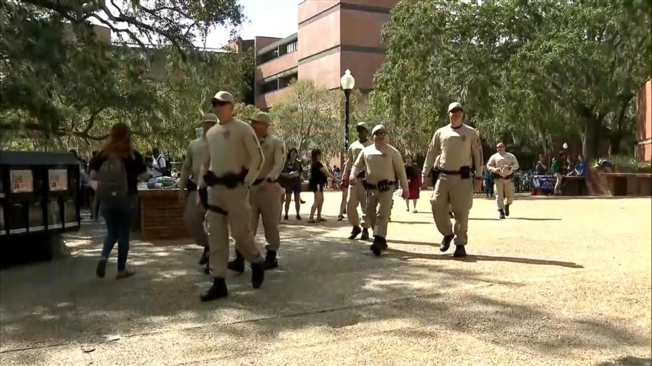 Florida college braces for protests over white nationalist