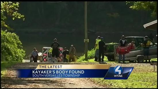 Missing kayaker found dead in Yough River