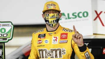Kyle Busch wants fans at short tracks in masks