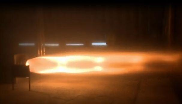 Bloodhound SuperSonic Car test-fires its engines, roasts the lab wall (video)