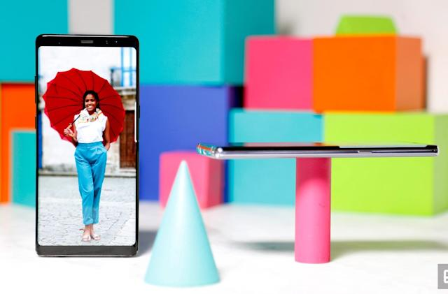 Samsung's Galaxy Note 8 still has game one year later