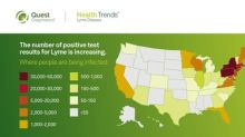 New Quest Diagnostics Data Shows Lyme Disease Prevalence Increasing and is Now Present in New U.S. States