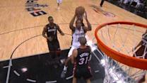 Leonard Drops the Floater