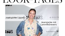 Look des Tages: Olivia Wilde im sommerlichen Blumenkleid