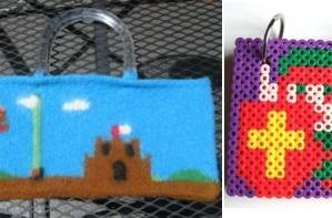 Two lovely Nintendo crafts
