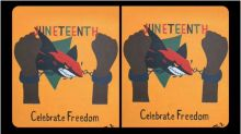 NHL team called out for Juneteenth graphic of shark breaking chains