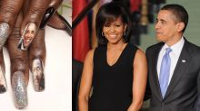 This Michelle and Barack Obama manicure is the most epic beauty ode to Black History Month