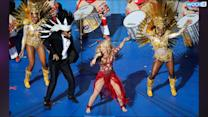 Shakira's World Cup Costume: Drag Queen Or Hunger Games Tribute?