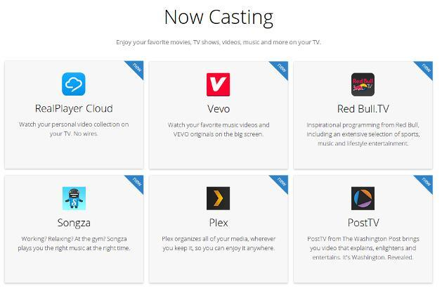 Google Chromecast adds 10 new apps to its streaming arsenal