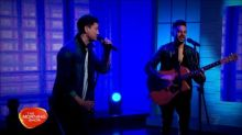Millsy and Andrew De Silva perform George Michael's 'Faith'