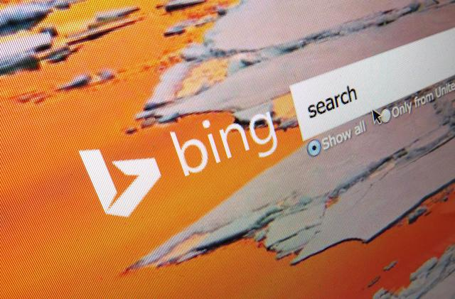 Bing and Yahoo were suggesting offensive search terms