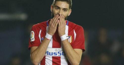 Foot - ESP - Atlético - Atlético de Madrid : entorse acromio-claviculaire pour Yannick Carrasco