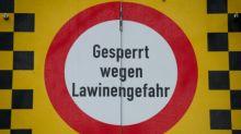 Große Lawinengefahr in den Alpen
