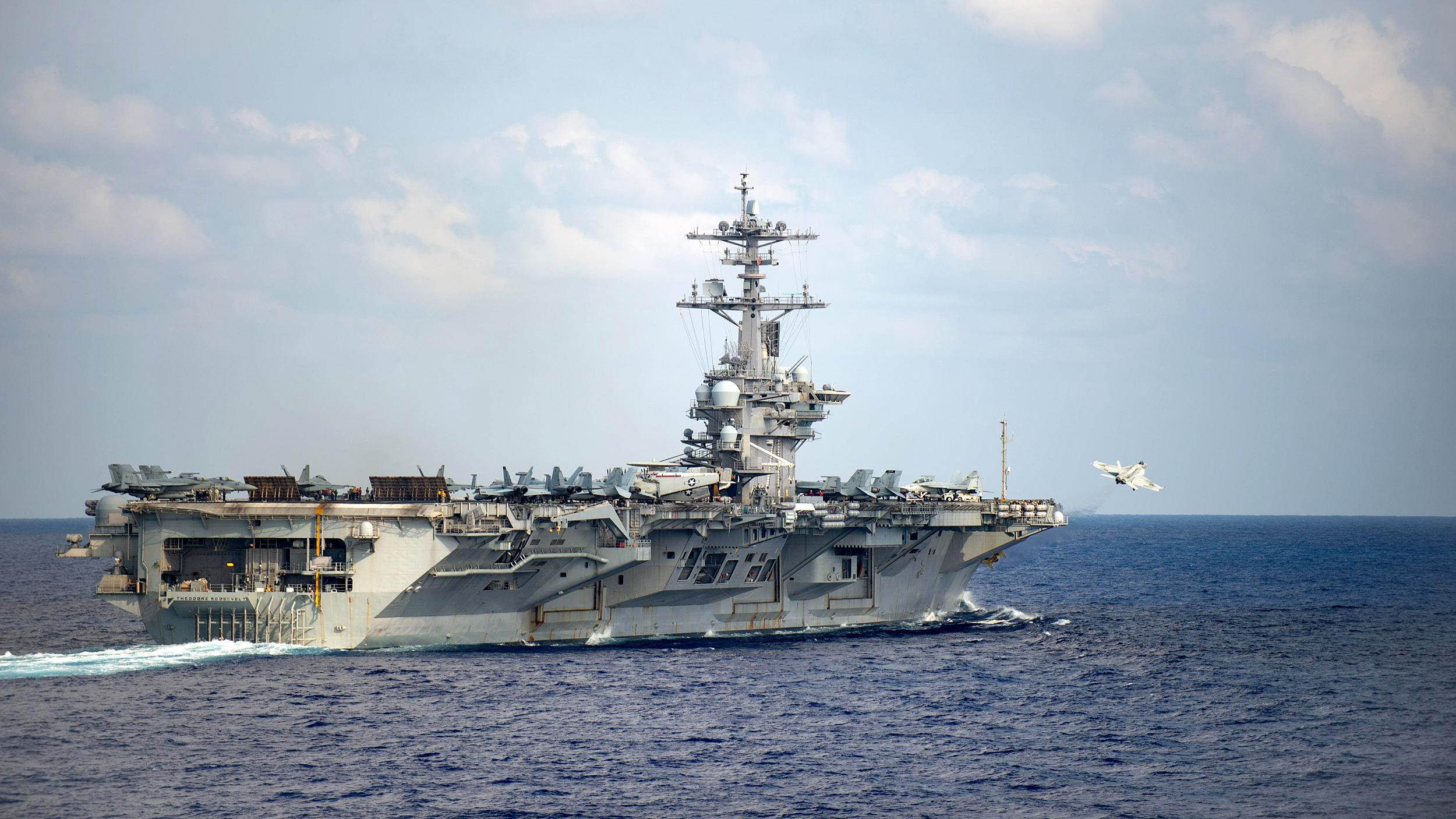 Navy relieves captain of coronavirus-plagued USS Theodore Roosevelt after he sounded alarm