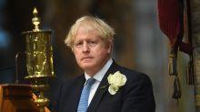Boris Johnson joins Helena Bonham Carter at service to pay tribute to nurses