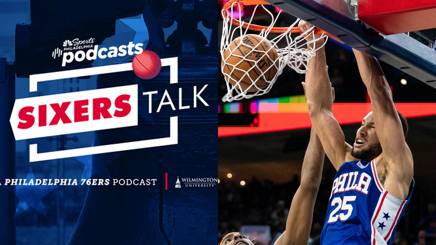 Sixers Talk podcast: Ben Simmons hit a 3 ... now what?