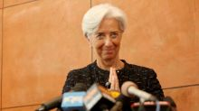 Christine Lagarde, Welcome to the ECB