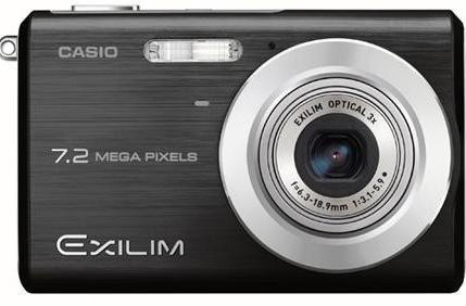 Casio's Exilim EX-Z11 point-and-shoot looks good in black