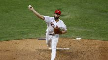 Arrieta tosses 6 scoreless in Phillies' 5-0 win over Braves