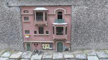 Versteckte Mini-Kunst in den Straßen von Lund