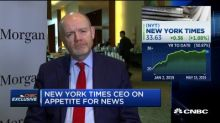 New York Times is full service, isn't living off the Trump story: NYT CEO