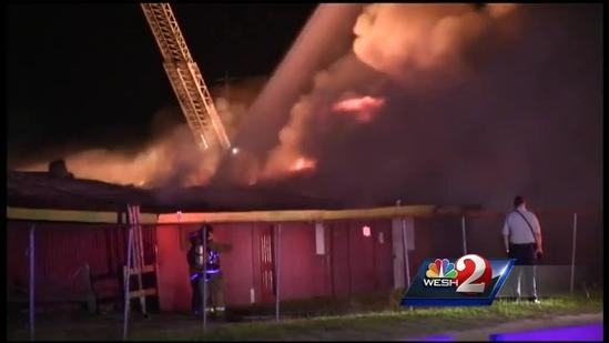 Arsonist responsible for flea market fire, officials say