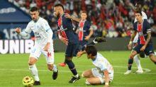 Foot - L1 - PSG-OM - PSG-OM:de nouvelles images des altercations entre Neymar et Alvaro