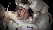 US astronaut Peggy Whitson breaks American spaceflight record