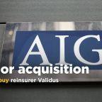 AIG to buy reinsurer Validus for $5.56 billion