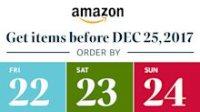 Plenty of Time to Shop with Fast, Free Shipping from Amazon to Your Door – Through December 24
